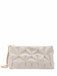 KABELKA  COCCINELLE OPHELIE GOODIE lambskine white maxi